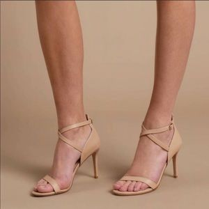 Nude heels by Chinese Laundry